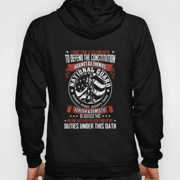 i once took a solemn oath to defend the constitution  veteran Hoody