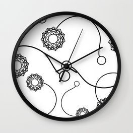 Poi Wall Clock