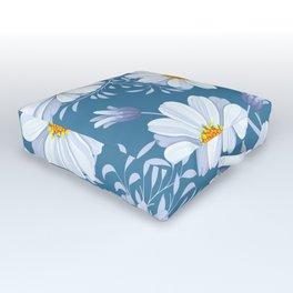 FIELD OF DAISIES Outdoor Floor Cushion