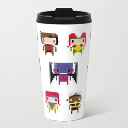 Pixel X-Men Metal Travel Mug