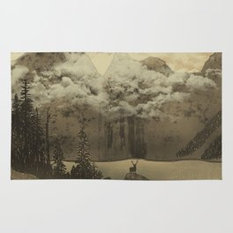 The Mountain Lake Rug