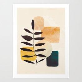 Abstract Elements 20 Art Print