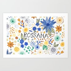 Rossana Art Print