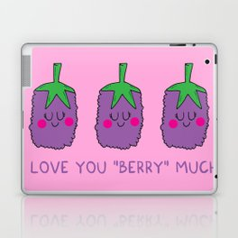 I love you berry much Laptop & iPad Skin