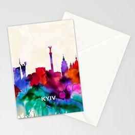 Kyiv Skyline Stationery Cards