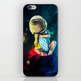 Baby Astronaut iPhone Skin