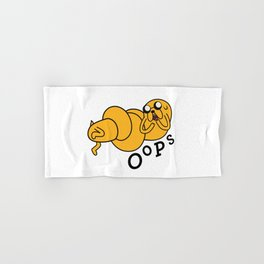 Oops Jake made a Booboo Hand & Bath Towel