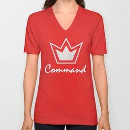 Crowned Unisex V-Neck