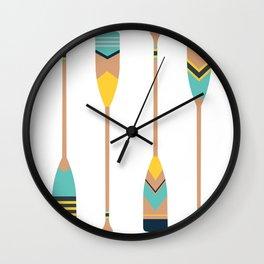 Paddles Wall Clock