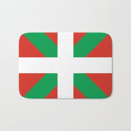 Basque Country: Euskaldun Flag Bath Mat