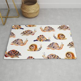 Snail Collection Rug