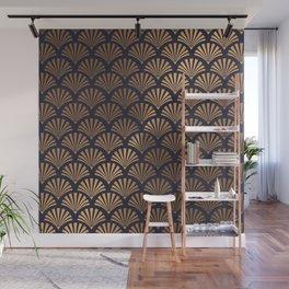 Art Deco Shell Pattern Wall Mural