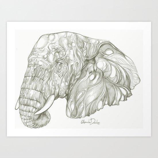 Trophy Game  Art Print