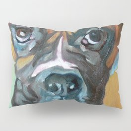 Drako the Rescued Boxer Pillow Sham