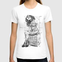 Brave Lady. ©Yury Fadeev T-shirt