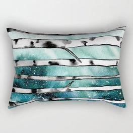 Abstract Birch Rectangular Pillow