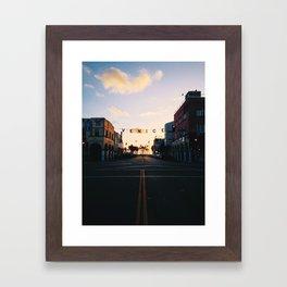 Venice Beach Classic Framed Art Print
