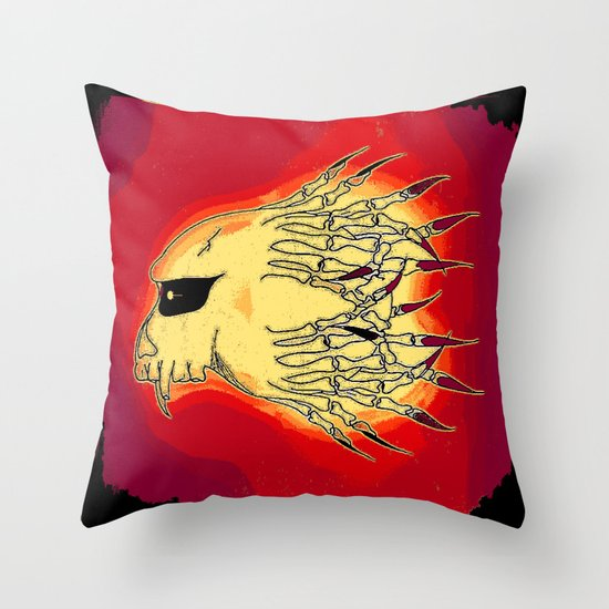 BAD HAIR DAY A098 Throw Pillow