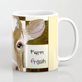 Farmhouse Cow, Welcome Home Farm Fresh Coffee Mug