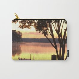 Dock at Sunrise Carry-All Pouch