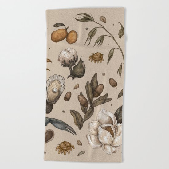 Georgia Nature Walks Beach Towel