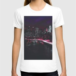Red New York City T-shirt