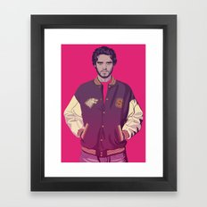 80/90s ERA - R.Srk Framed Art Print