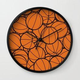 Hoop Dreams II Wall Clock