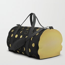 Gold Moon Phases Duffle Bag