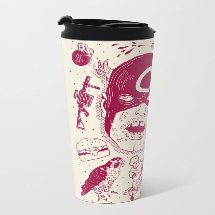 Craptain America Travel Mug