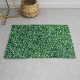 Green Grassy Texture // Real Grass Turf Textured Accent Photograph for Natural Earth Vibe Rug