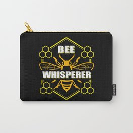 Bee Whisperer | Beekeeper Gift Idea Carry-All Pouch
