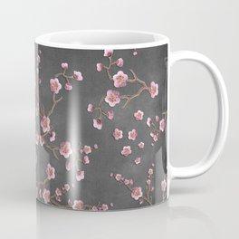 SAKURA LOVE - GRUNGE BLACK Coffee Mug