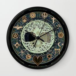 Peaceful Living Wall Clock