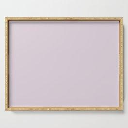 Dunn & Edwards 2019 Trending Colors Soft Lilac (Pastel Purple) DE5974 Solid Color Serving Tray