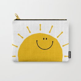 Smile Sunshine Carry-All Pouch