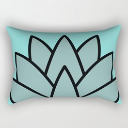 Pineapple Lantern Rectangular Pillow