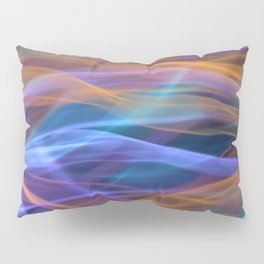 Abstract Shiny Night Lights 16 Pillow Sham