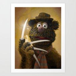 Muppet Maniac - Fozzie Krueger Art Print