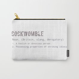 Cockwomble Carry-All Pouch