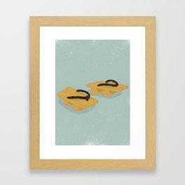 Geta Framed Art Print