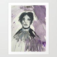 Broken Home (Brian Molko) Art Print