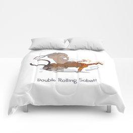 Double Rolling Sobat! Comforters