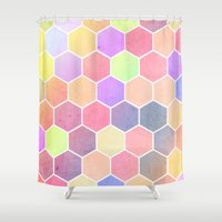 alice in wonderland Shower Curtains featuring Wonderland by Alexandre Reis