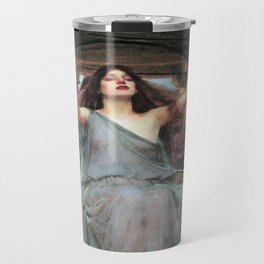 John William Waterhouse - Circe Offering the Cup to Ulysses Travel Mug