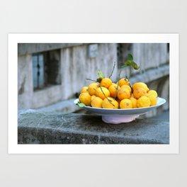 al Limone Art Print