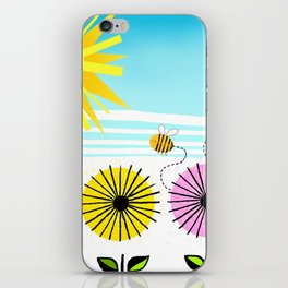 Buzzy As A Bee iPhone Skin