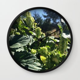 Beer Hops  Wall Clock