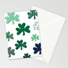 Cray Shamrocks Stationery Cards