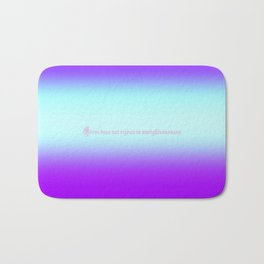 Re-Created  Color Field with LOVE 9 by Robert S. Lee Bath Mat